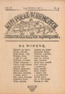 Mały Polak w Niemczech, 1927, R. 3, Nr. 4