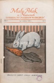 Mały Polak w Niemczech, 1930, R. 5, Nr. 9
