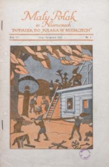 Mały Polak w Niemczech, 1931, R. 6, Nr. 11