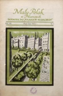 Mały Polak w Niemczech, 1933, R. 8, Nr. 5