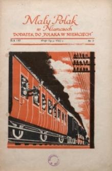Mały Polak w Niemczech, 1933, R. 8, Nr. 7
