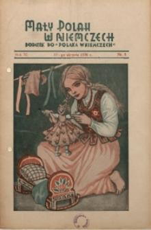 Mały Polak w Niemczech, 1936, R. 11, Nr. 8
