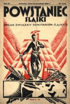 Powstaniec Śląski, 1929, R. 3, nr 11/12