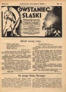 Powstaniec Śląski, 1932, R. 6, nr 6