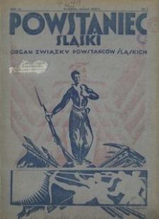 Powstaniec Śląski, 1935, R. 9, nr 1