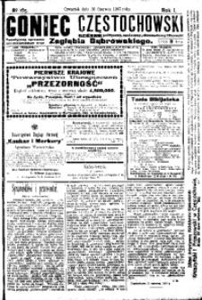 Goniec Częstochowski, 1907, R. 1, No 165