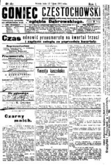 Goniec Częstochowski, 1907, R. 1, No 187