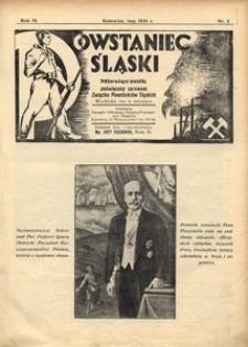 Powstaniec Śląski, 1935, R. 9, nr 2