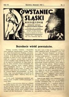 Powstaniec Śląski, 1935, R. 9, nr 4