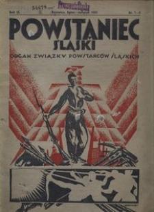 Powstaniec Śląski, 1935, R. 9, nr 7/8
