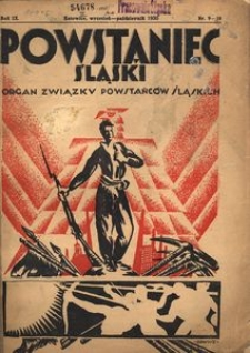Powstaniec Śląski, 1935, R. 9, nr 9/10