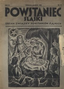 Powstaniec Śląski, 1935, R. 9, nr 12