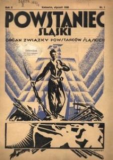 Powstaniec Śląski, 1936, R. 10, nr 1