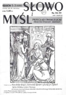 Słowo i Myśl. Przegląd Ewangelicki. Miesięcznik Społeczno-Kulturalny, 2000, Nr _02