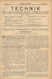Technik, 1935, R. 8, nr 2