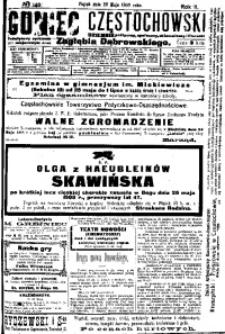 Goniec Częstochowski, 1908, R. 2, No 140