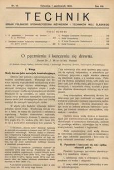 Technik, 1935, R. 8, nr 10