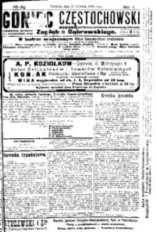 Goniec Częstochowski, 1908, R. 2, No 169