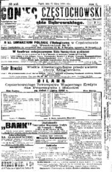 Goniec Częstochowski, 1908, R. 2, No 208