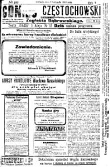 Goniec Częstochowski, 1908, R. 2, No 307