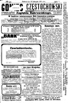 Goniec Częstochowski, 1908, R. 2, No 321