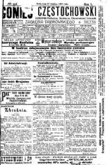 Goniec Częstochowski, 1908, R. 2, No 356