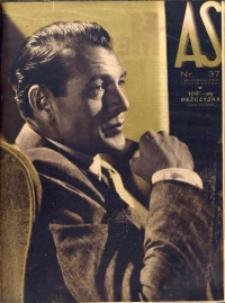As. Ilustrowany magazyn tygodniowy, 1938, R. 4, nr 37