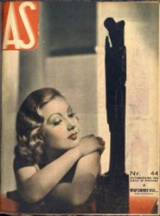 As. Ilustrowany magazyn tygodniowy, 1938, R. 4, nr 44