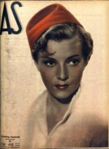 As. Ilustrowany magazyn tygodniowy, 1938, R. 4, nr 48