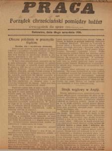 Praca, 30 września 1926