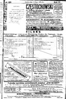 Goniec Częstochowski, 1909, R. 4, No 196