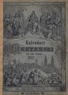 Kalendarz Maryański na Rok Pański 1902. R. 19