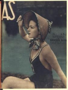 As. Ilustrowany magazyn tygodniowy, 1937, R. 3, nr 25