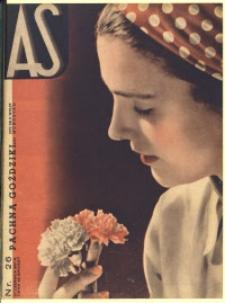 As. Ilustrowany magazyn tygodniowy, 1937, R. 3, nr 26