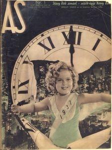 As. Ilustrowany magazyn tygodniowy, 1937, R. 3, nr 1