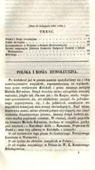 Przegląd Rzeczy Polskich. Zeszyt 15. Dnia 15 listopada 1862 roku