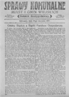Sprawy Komunalne Miast i Gmin Wiejskich, 19 stycznia 1927