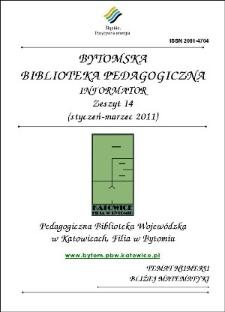 Bytomska Biblioteka Pedagogiczna. Informator. Zeszyt 14