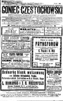 Goniec Częstochowski, 1912, R. 7, No 316