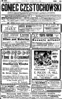 Goniec Częstochowski, 1912, R. 7, No 350