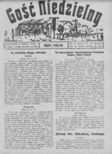 Gość Niedzielny, 7 grudnia 1930