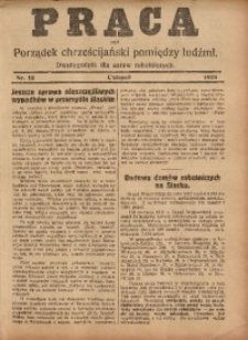 Praca, 1928, Nr. 12