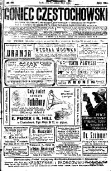 Goniec Częstochowski, 1913, R. 8, No 49