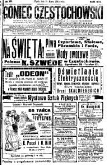 Goniec Częstochowski, 1913, R. 8, No 79