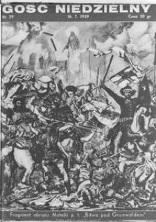 Gość Niedzielny, 1939, [R. 17], nr 29