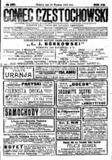 Goniec Częstochowski, 1913, R. 8, No 265