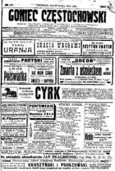 Goniec Częstochowski, 1913, R. 8, No 354