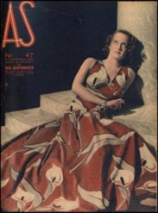 As. Ilustrowany magazyn tygodniowy, 1937, R. 3, nr 47