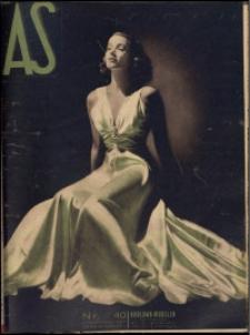 As. Ilustrowany magazyn tygodniowy, 1937, R. 3, nr 40
