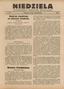 Niedziela, 1933, nr 43